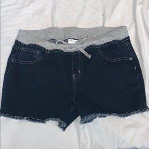 Justice Cut Off Jean Shorts
